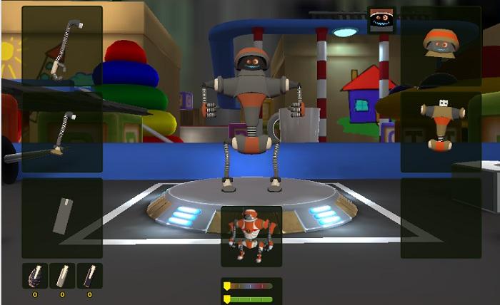 Ангар с роботом