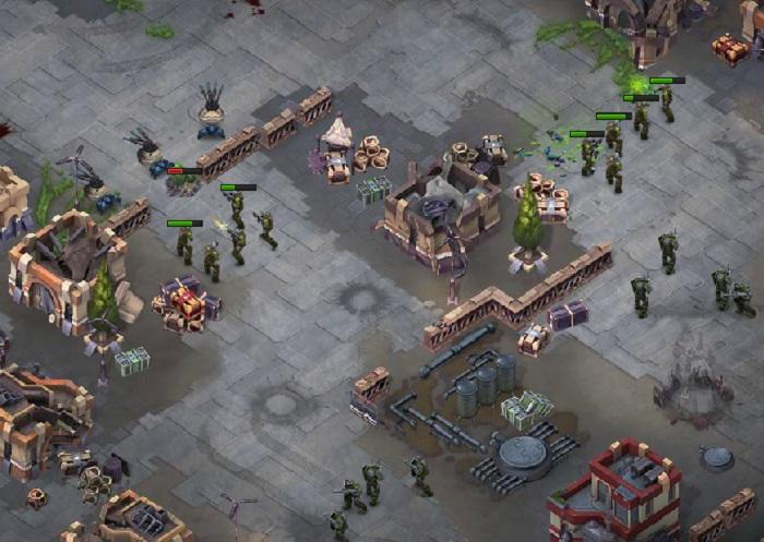 Сражение в игре