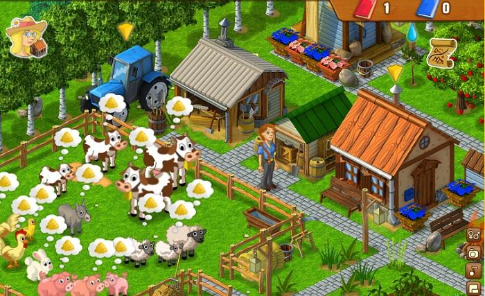 Ферма соседки