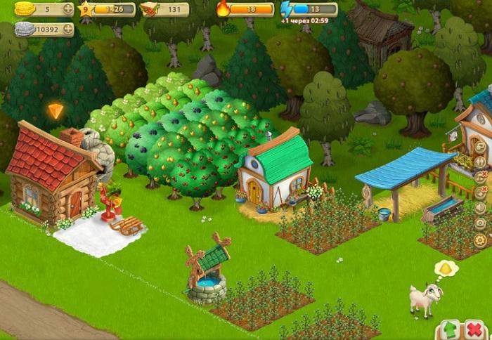 Моя ферма в Ромашково